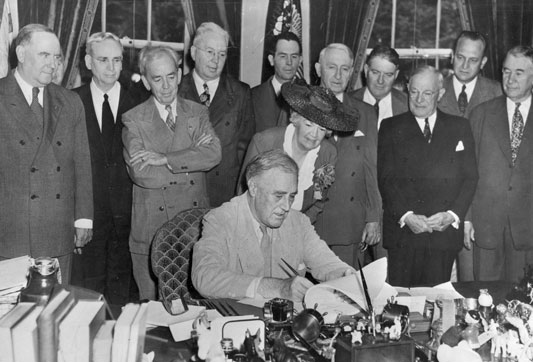 1944 – Servicemen's Readjustment Act signed