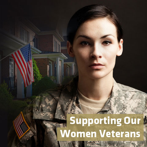 Women Veterans Profile Graphic